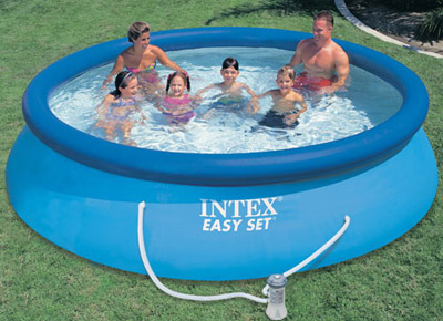 Piscine gonflable Intex 28132NP - 28132FR - 366 x 76 cm