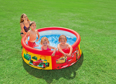 Piscine gonflable Intex Cars - Easy Set - 183 x 51 cm - 2810NP