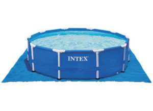 Tapis de sol piscine Intex jusqu'à diamètre 4.57