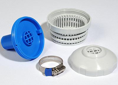 Joint et collier de serrage pour épurateur de piscine gonflable Intex modèle 602