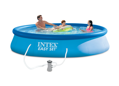 Piscine gonflable Intex Easy Set 396 x 84 cm - 28142FR - 28142NP