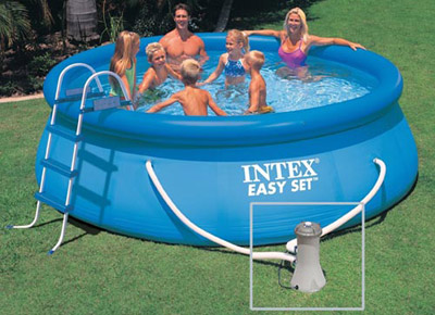 Piscine gonflable Intex ronde 366 x 84 cm