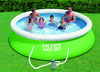 Piscine gonflable Intex verte 366 x 84 cm