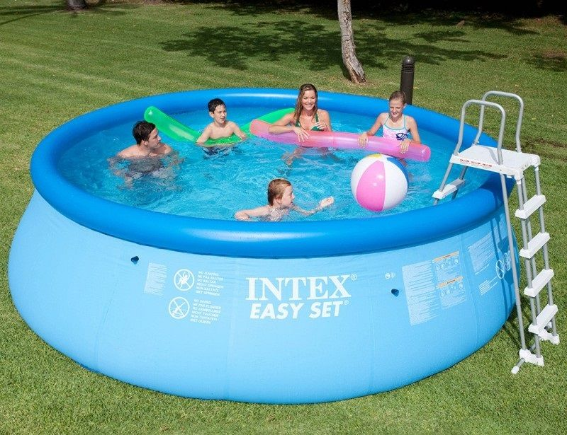Piscine gonflable Intex Easy Set - 4,57 x 1,22 m - 26166NP